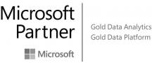 Logo Microsoft Partner Gold Data Analytics und Platform